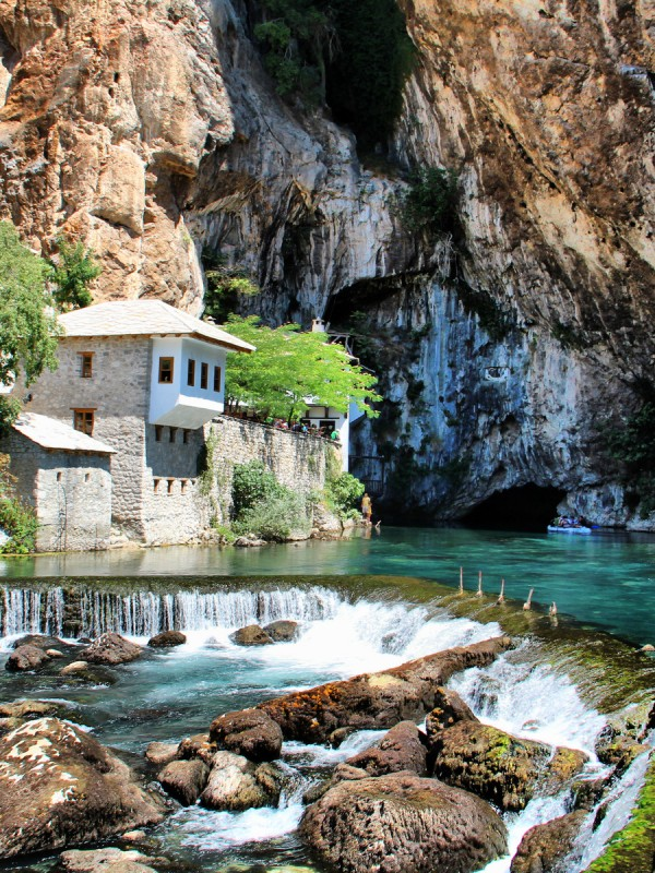 Blagaj in Bosnia and Herzegovina