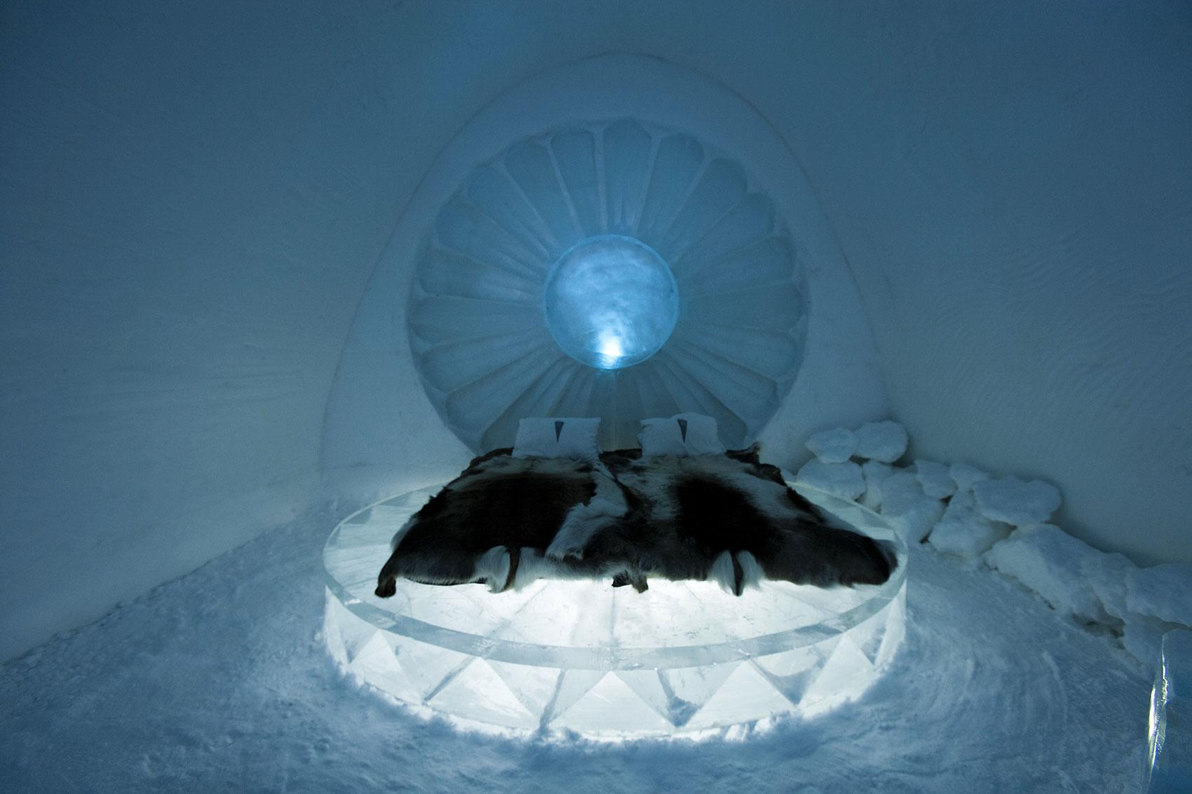 Ice Hotel in Jukkasjarvi, Sweden3