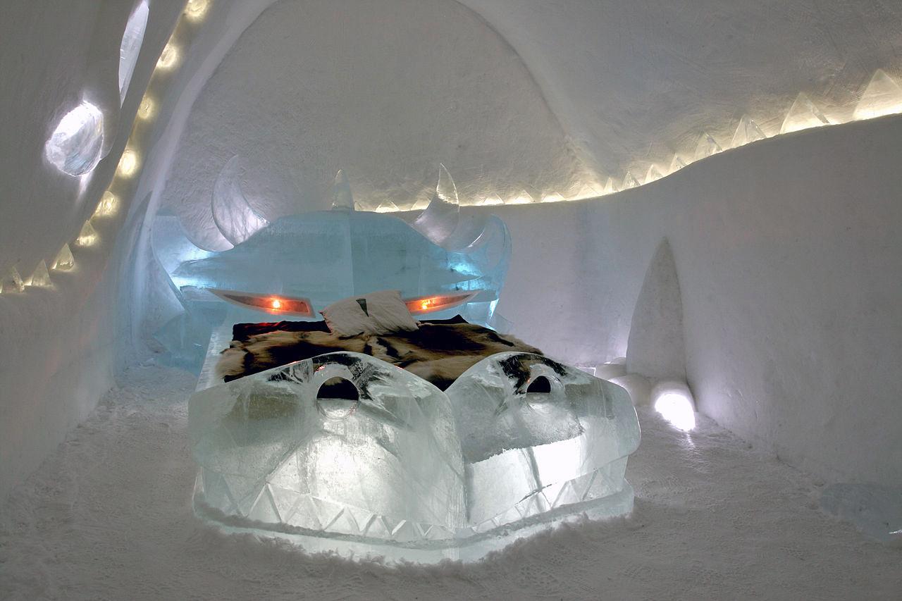 Ice Hotel in Jukkasjarvi, Sweden4