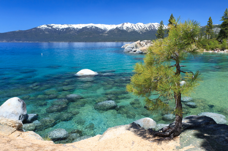 Sand Harbor Lake Tahoe Nevada The Backpackers