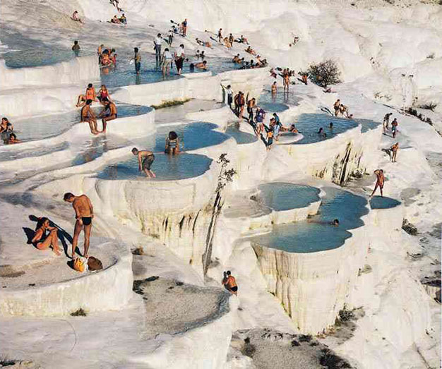 spectacular pamukkale thermal pools in turkey the