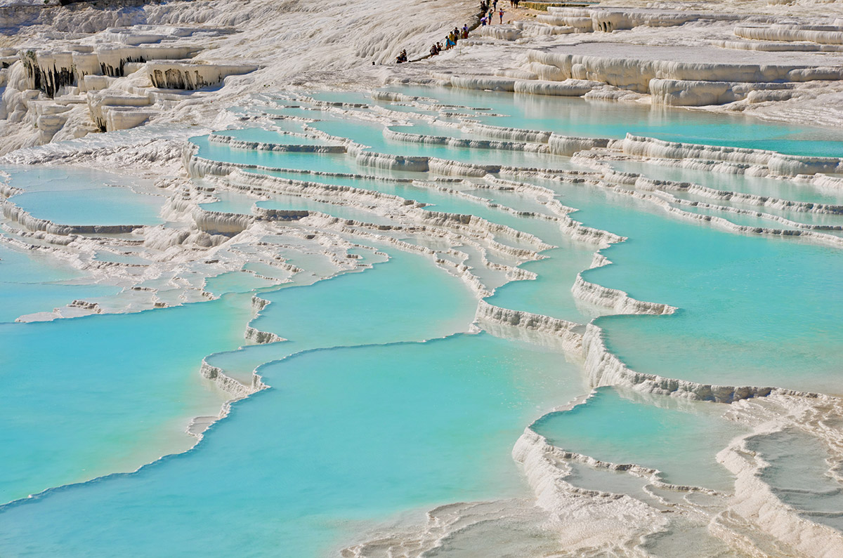 Spectacular Pamukkale Thermal Pools in Turkey  The ...