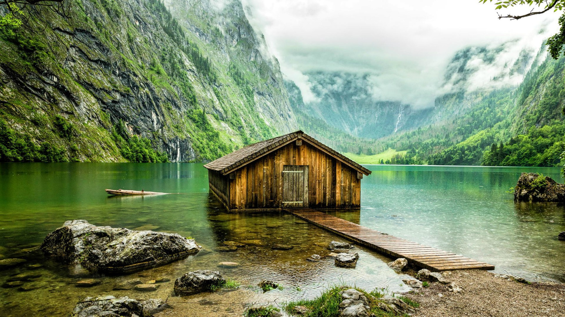 The Spectacular Obersee Bavaria Germany