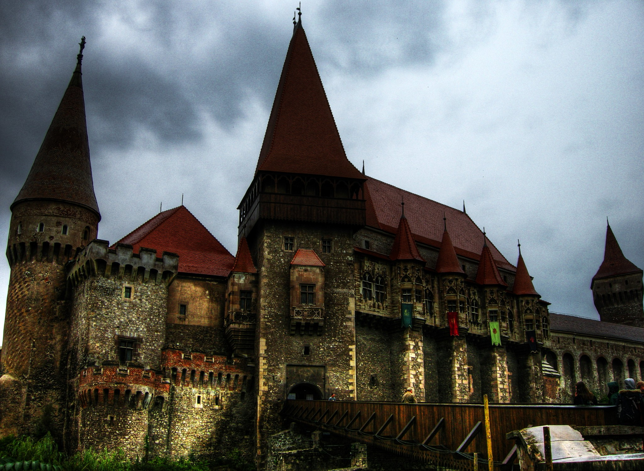 Hunyadi Castle of Romania-dracula