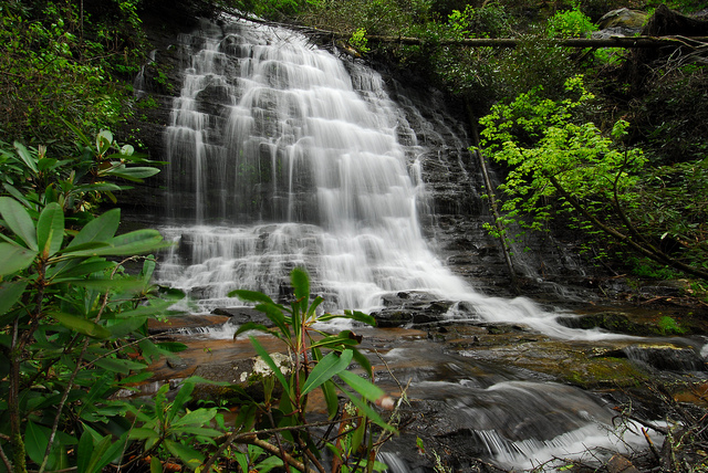 Linn Waterfall, Northumberland, England2