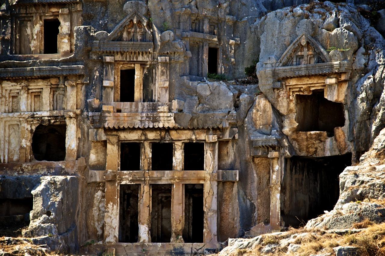 Rock-cut-Tombs-in-Myra-Lycia-Turkey-3.jp