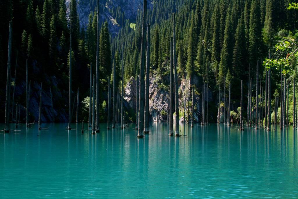 Lake Kaindy in Kazakhstan2
