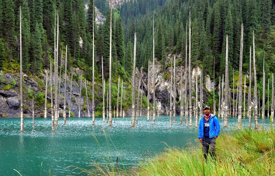 Lake Kaindy in Kazakhstan4