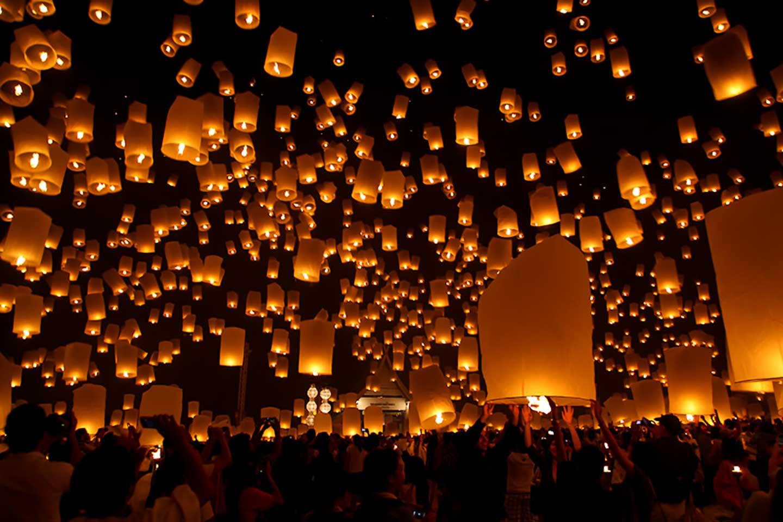 Pingxi Sky Lantern Festival2