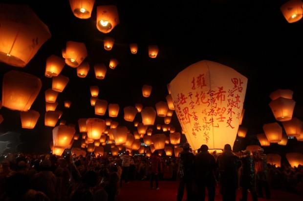 Pingxi Sky Lantern Festival3