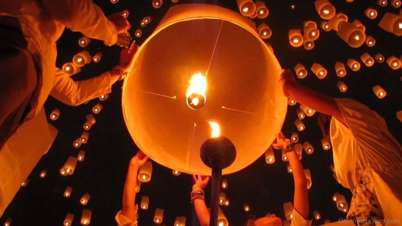 Pingxi Sky Lantern Festival4